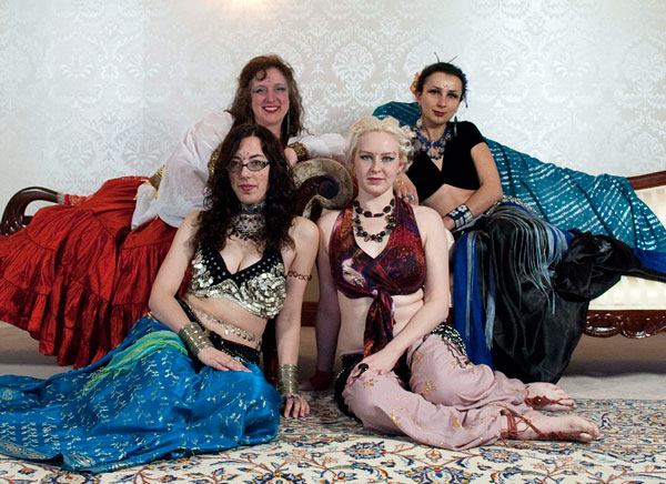 Photo of Different Drummer Belly Dancers