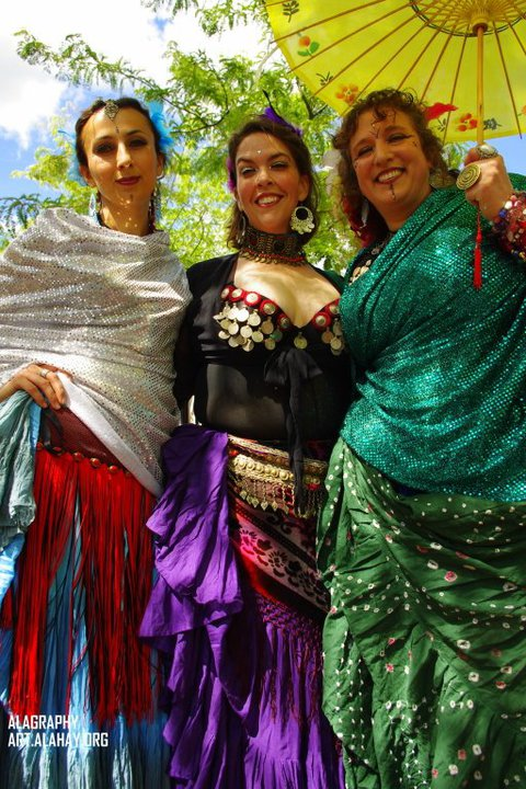 Photo of Different Drummer Belly Dancers troupe by Alagraphy at alahay.org.