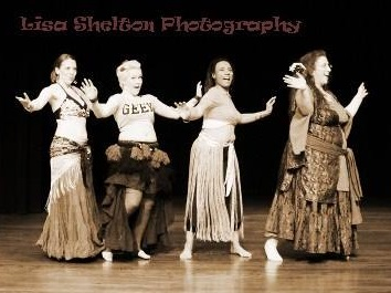 DDBD at Bloomington Belly Dances - 2014. Picture by Lisa Shelton