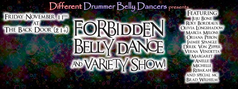 Forbidden Belly Dance and Variety Show Logo - 2016